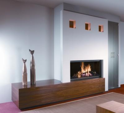 Caminetto soggiorno: classico, moderno