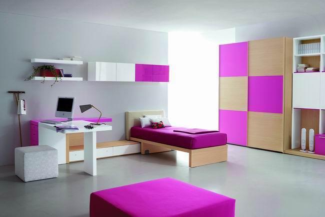 Arredamento moderno cameretta essenziale design for Recamaras juveniles modernas