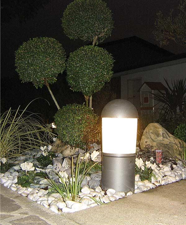 Faretti da esterno per giardino fabulous led per esterni for Leroy merlin illuminazione esterno