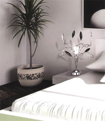 Illuminazione camera letto lampadario abat jour - Abat jour camera da letto ...
