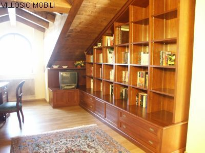 Mobili misura mansarda falegnami professinisti legno - Mobili su misura mansarda ...