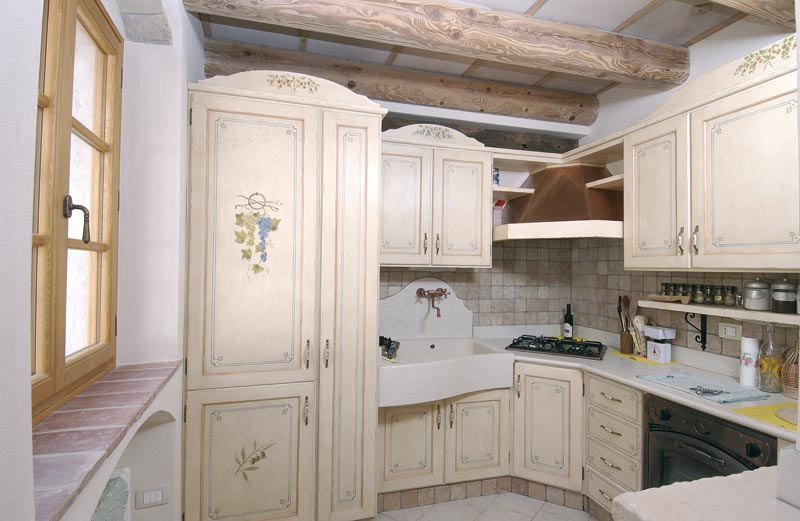 Arredamento cucina provenzale country provenza francese for Case in stile castello francese