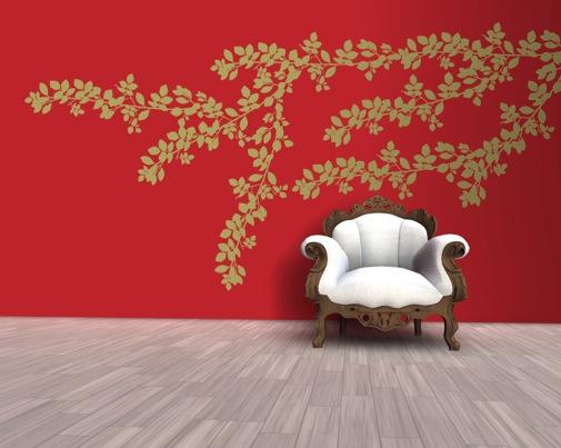 Decorazioni pareti ingresso adesivi complementi accessori - Decorazione pareti interne ...
